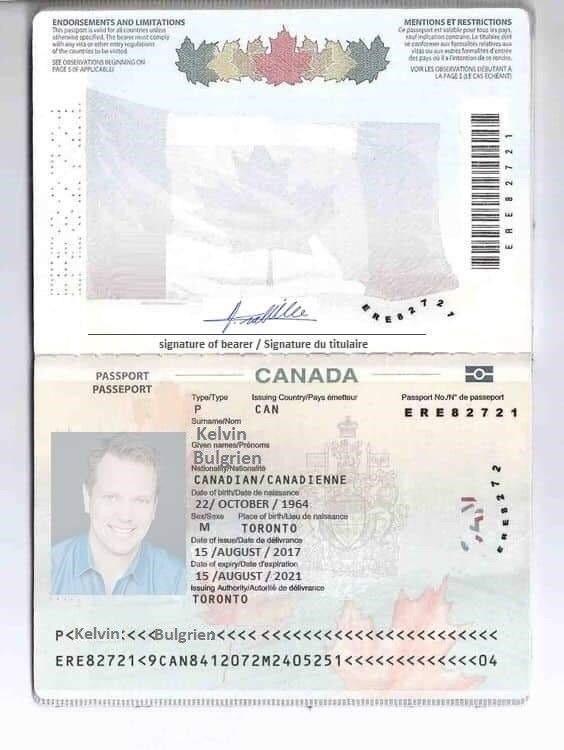 kelvin b real predator  passport online aadhar card