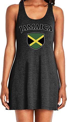 amdesco ladies jamaica flag shield jamaican pride casual