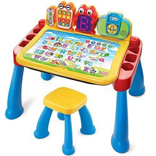 Activity Desk Deluxe Learning Table Touch and Learn Play Kids Baby Toys Set #SD4U