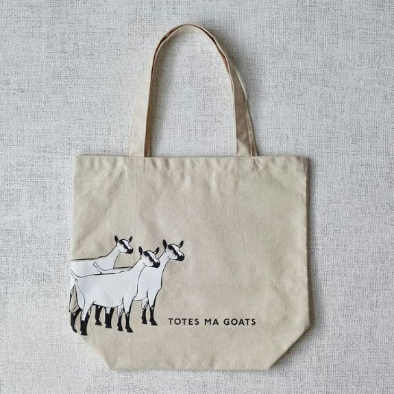 Totes ma goats.Westelm, Gift Ideas, Totes Bags, Marketing Totes, Tote Bags, Christmas Gift, Totes Ma, West Elm, Ma Goats