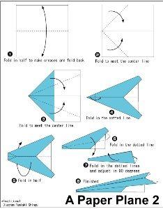 Origami per bambini: l'aeroplano   Tutto Mamma
