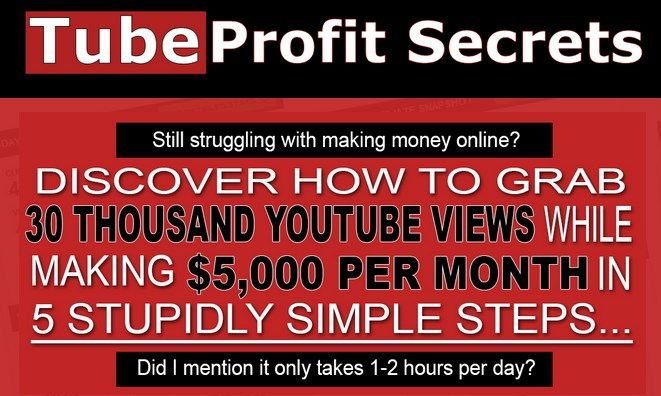 Tube Profit Secrets By Rich Wilens – Get 30 Thousands YouTube Views While Making $5,000 Per Month in 5 Stupidly Simple Steps By Creating Profitable Video to Make Great Money Online Using The Best Way...  Check Detail: http://www.releasedl.com/tube-profit-secrets-by-rich-wilens/