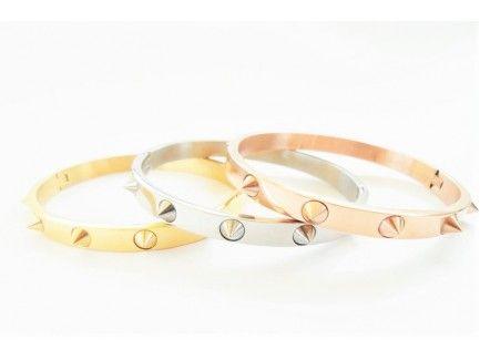 Studed Bangle Bracelet