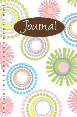 design - Spiral pattern design Journal by Milena Martinez