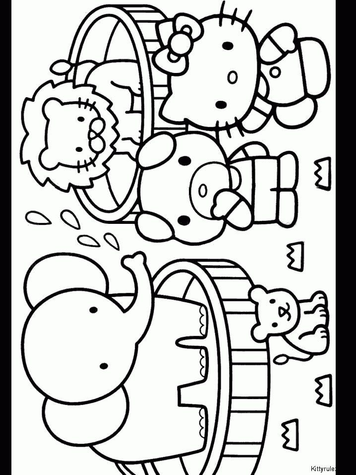 84 best hello kitty coloring pages images on Pinterest Hello kitty - new coloring pages with hello kitty