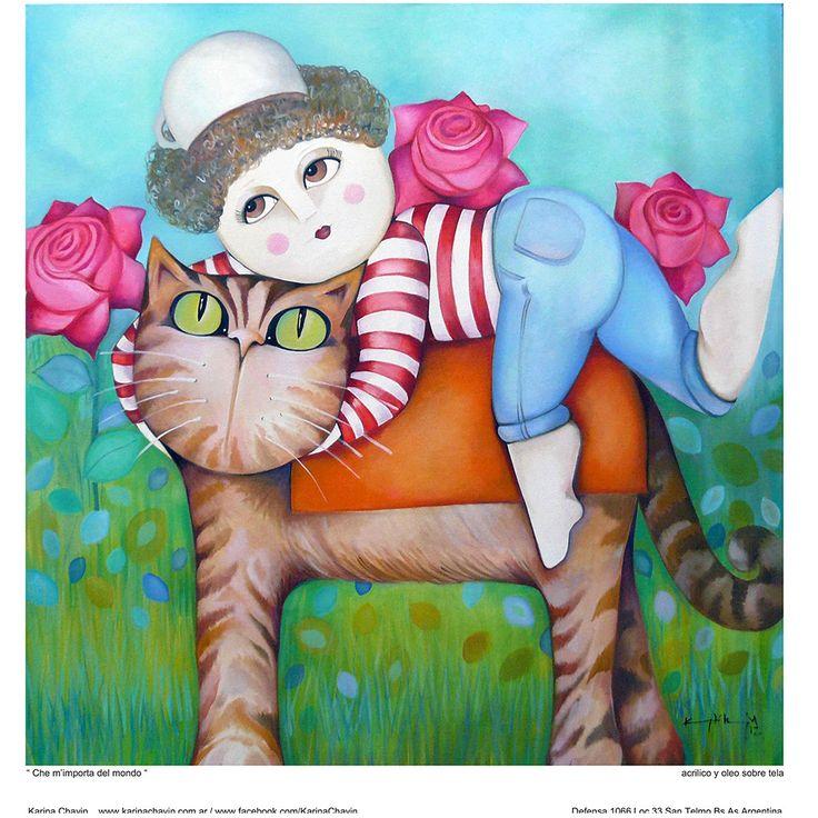 Che m'importa del mondo - Karina Chavin Espacio de Arte