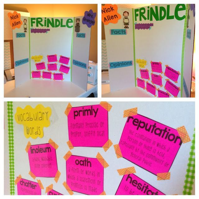 Life in Fifth Grade: Teaching Frindle {beginning of 5th grade}