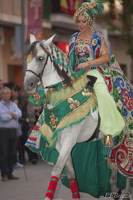 Festival of the Moors and Christians en Caravaca, 2012