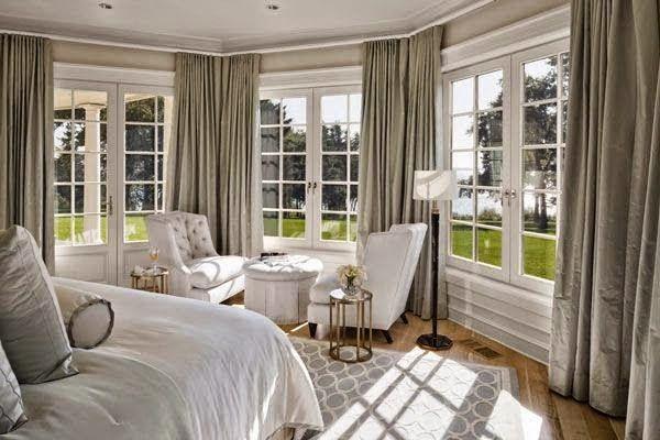 love it!! large open floor plan design modern neutral bedroom