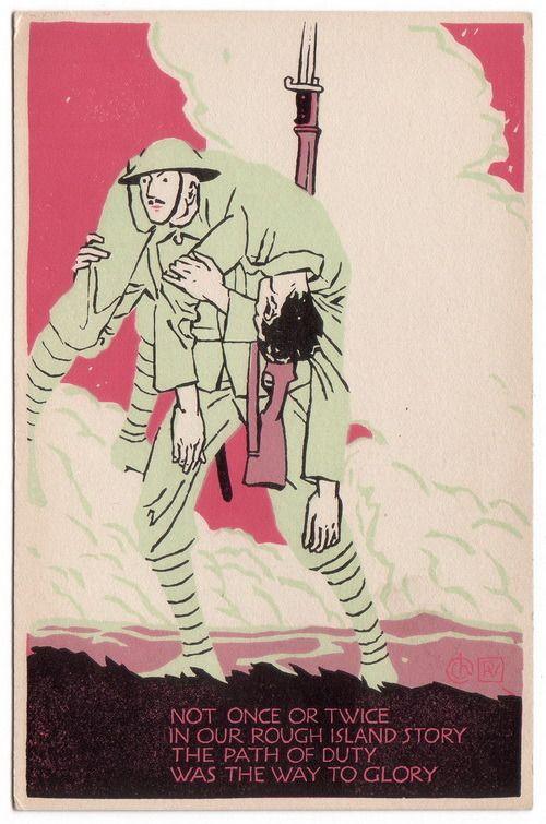 Vánoční vojenská pohlednice ze sbírek VHÚ Praha