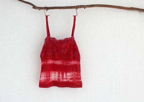 BOHEMIAN . women's sexy tie dye top . size 10 . by bohemianbabes