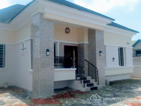 Brand New And Exquisitely Finished 3 Bedroom Detached Bungalow With Boys Quarters Thomas Esta Bungalow Style House Bungalows For Sale Small House Design Plans