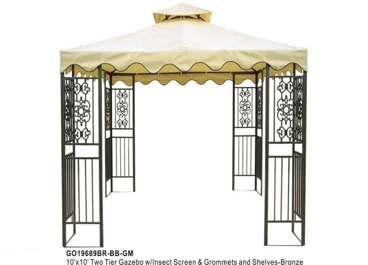 metal gazebo pergola kits lowes metal gazebo kits. Black Bedroom Furniture Sets. Home Design Ideas