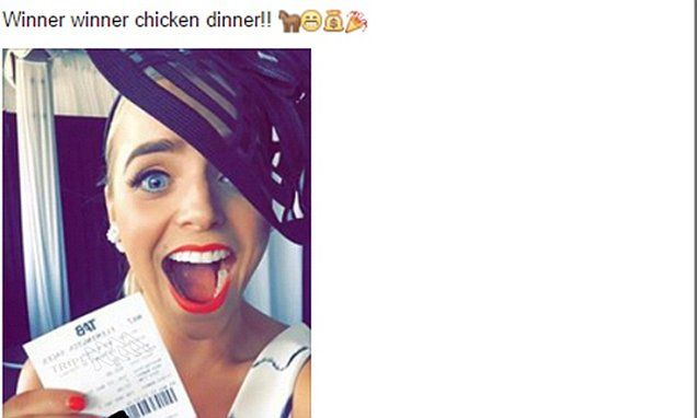 BE CAREFUL WHAT YOU POST: Girl has $900 Melbourne Cup ticket stolen after posting it on Facebook