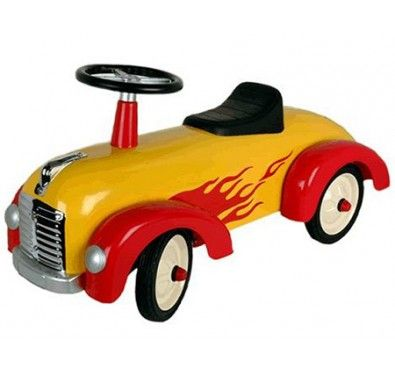 great gizmos speedster yellow and red ride on model 8301 years steel