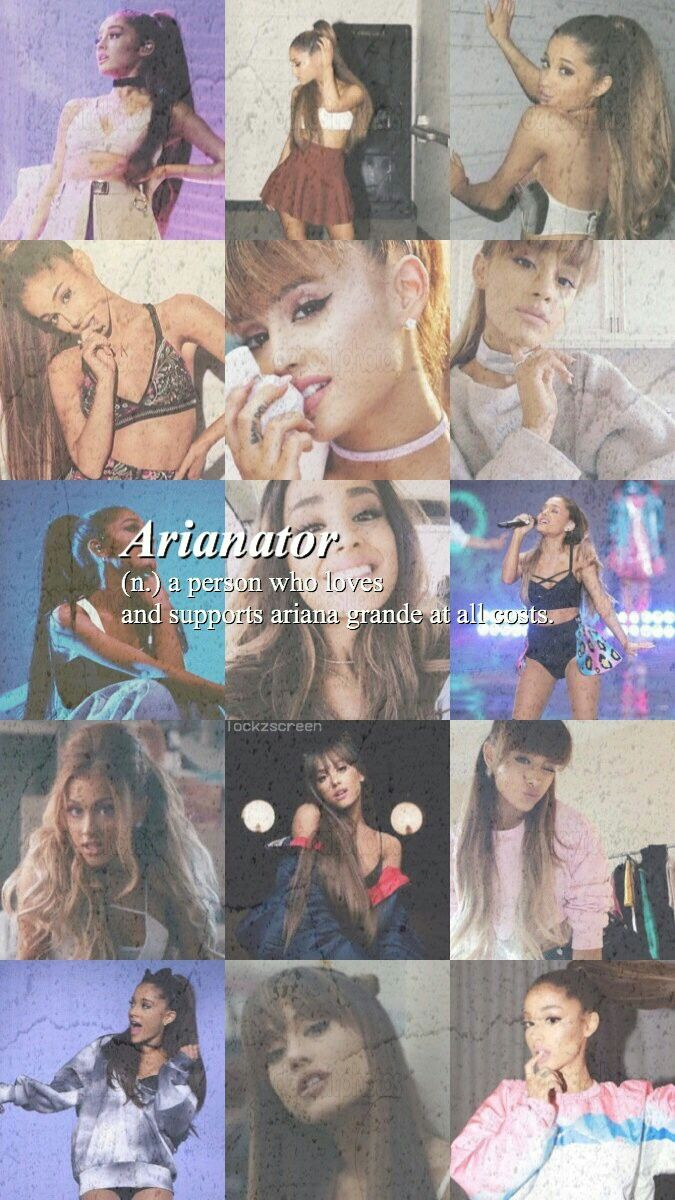 I am a proud arianator!!