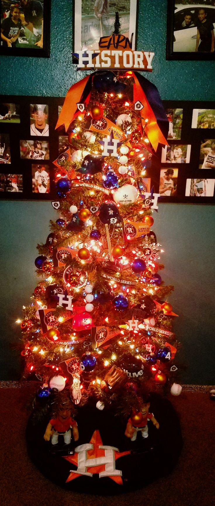 Houston Astros Christmas Tree