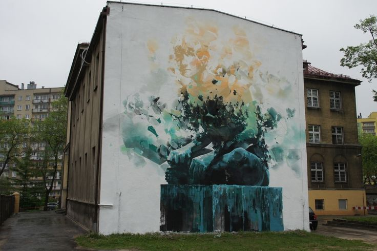 Artist : Robert Proch. Place : Warsaw, Poland. Tags : street Art, graffiti, urban culture.
