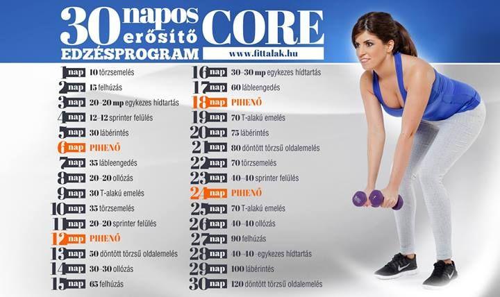 30 napos Core