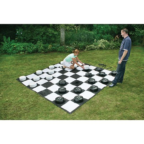 Giant Games Giant Checkers Set (CE611-M)