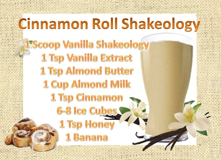 Not only can breakfast be SUPER healthy but it can be SUPER delicious as well! Try out this Vanilla Shakeology Recipe that will satisfy your Cinnamon Roll Cravings!