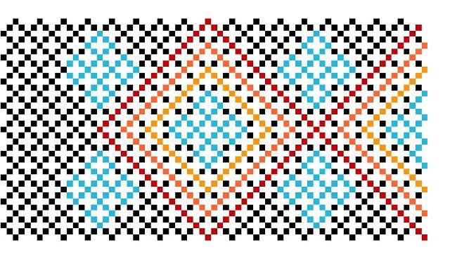 New Design! Free Huichol Bracelet Pattern | Peiote Jewellery