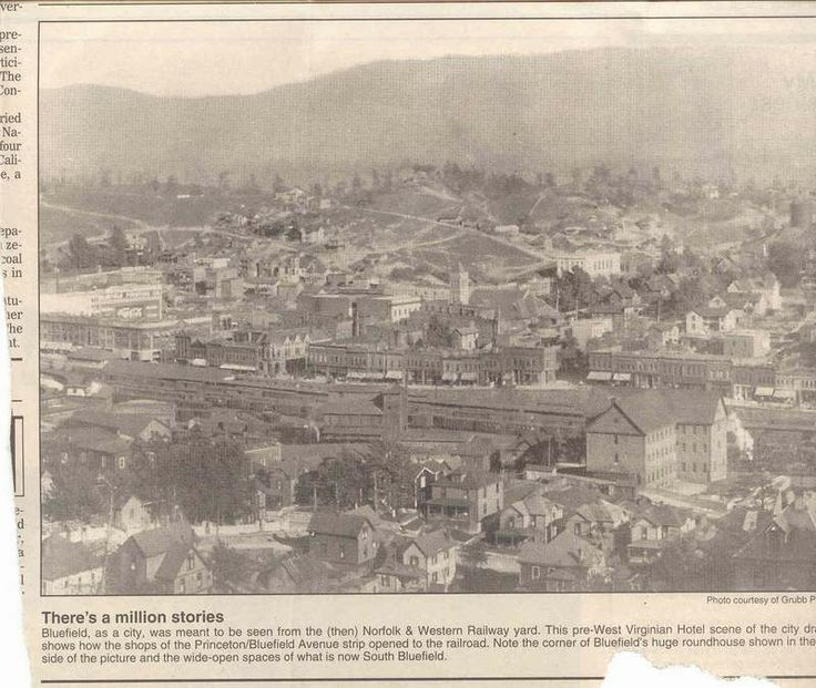 early Bluefield West Virginia