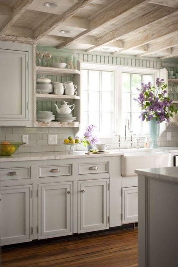 Farmhouse Kitchen Designs To Get Inspired586 best Kitchens   Cottage Style images on Pinterest  . Cottage Kitchen Backsplash Ideas. Home Design Ideas