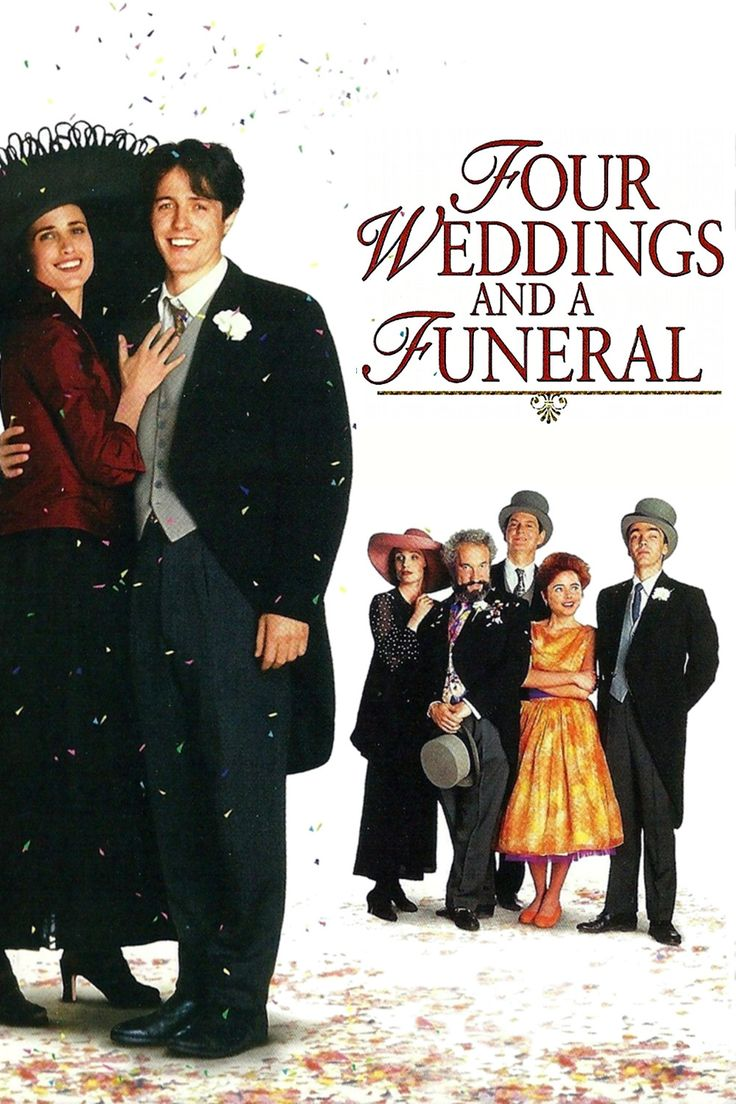 click image to watch Four Weddings and a Funeral (1994
