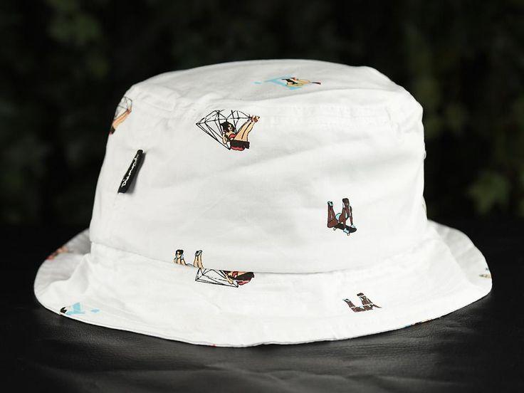 Diamond Supply Co. Pin Up Bucket Hat [B16DMHH04-WHT]
