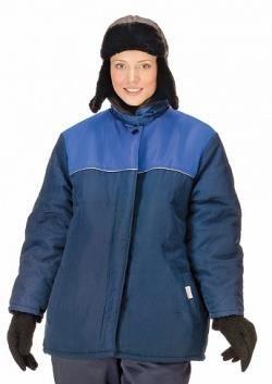 Спецодежда женская куртка утепленная