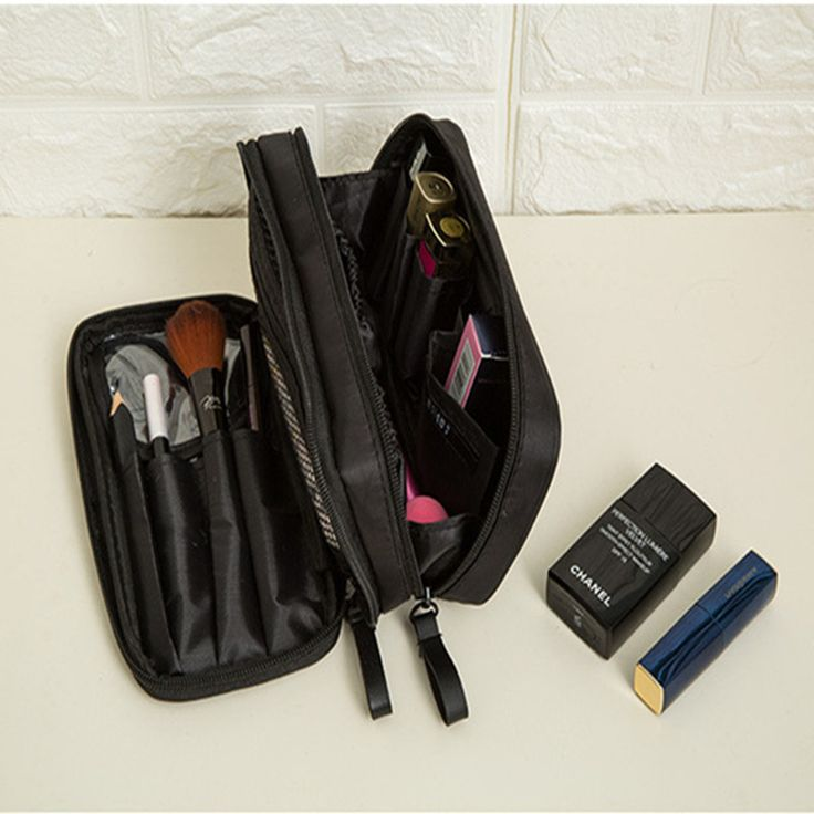 Small Cosmetic Bags Makeup Bag Women Travel Toiletries Professional Storage Bag Brush Organizer Necessaries Makeup Case Beauty #Affiliate