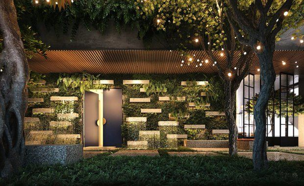 The former Celtic Club site in the heart of the Melbourne CBD will soon be home to Australia's first elevated indoor forest.