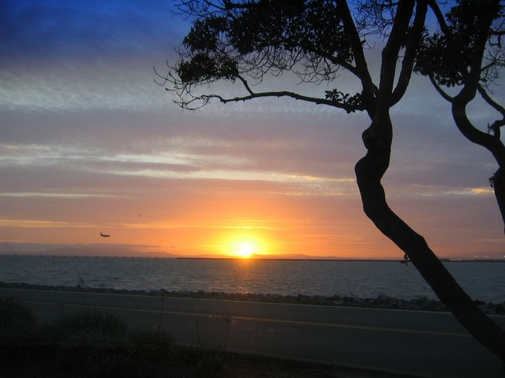 sunset,san leandro
