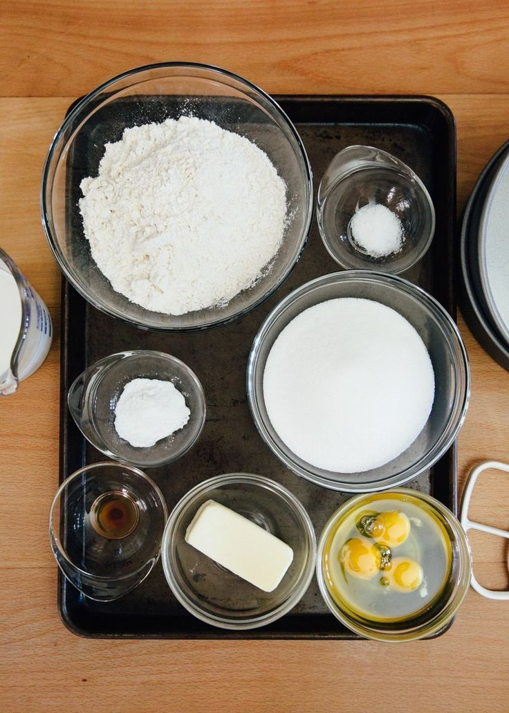 how to make butter cake mix from scratch