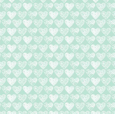 Sweet Hearts fabric by allisonkreftdesigns on Spoonflower - custom fabric