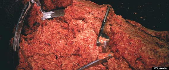 Pink Slime For School Lunch: Government Buying 7 Million Pounds Of Ammonia-Treated Meat For Meals