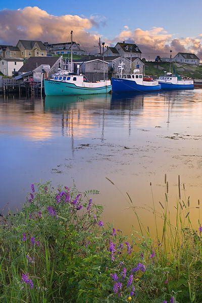 Peggy's Cove harbour, Nova Scotia, Canada. #travel-paradise divine, canada