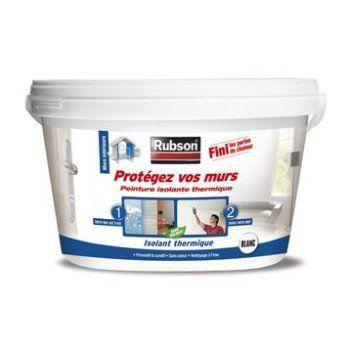 Peinture thermique Protégez vos murs, RUBSON blanc 2.5 l | Leroy Merlin