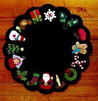 Christmas Memories Wool Mat