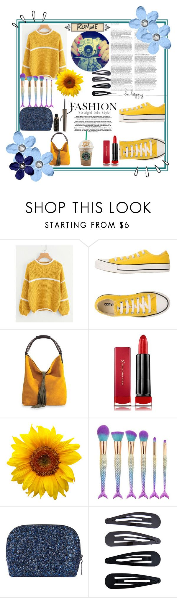 """contest"" by ajsajunuzovic ❤ liked on Polyvore featuring ASOS, Converse, Max Factor, Old Navy, Bobbi Brown Cosmetics, Accessorize and 100% Pure"