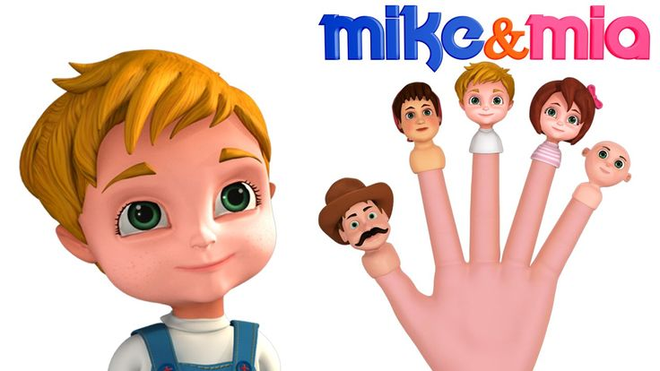 Join Mike & Mia in singing The cute Finger Family Song  https://www.youtube.com/watch?v=hU30Iq-TEhw