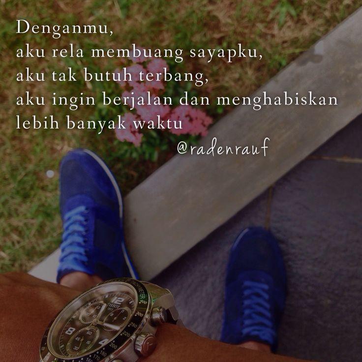 Denganmu, aku ingin berlama-lama...