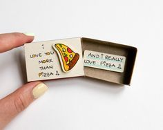 Quirky & Cute Matchbox-Cards Help You Profess Your Love & Feelings Inspired by greeting cards gift boxes and all things miniature these tiny cards are handmade from real matchboxes at the Brooklyn-based boutique shop3xu. Along with the quirky and funny puns the element of surprise and love reign high in these small vessels. Each box contains a hidden message which is directly tied to the cover. As an alternative to traditional greeting cards the ingenious creations feel more intimate…