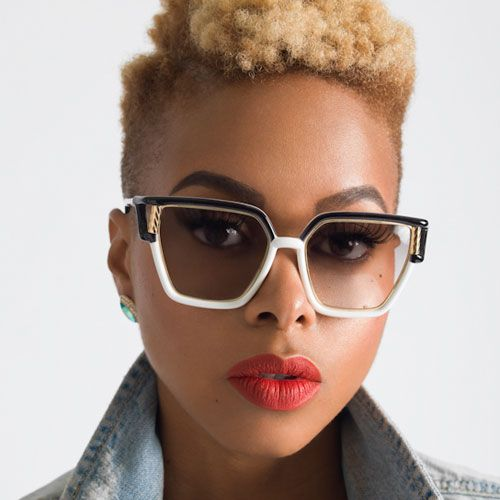 Noiceeee  Chrisette-Micheles-Natural-Hair-Goes-Two-Toned-Blonde.  thestylenewsnetwork.com