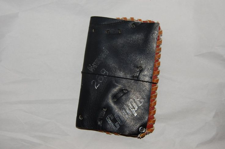 Repurposed Baseball Glove Journal Cover and Journal