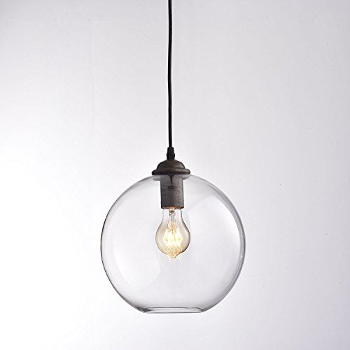 CLAXY® Ecopower Lighting Vintage Clear Glass shade Pendant Lighting--1 Light CLAXY http://smile.amazon.com/dp/B014F7W3G2/ref=cm_sw_r_pi_dp_By0Swb064GT8N