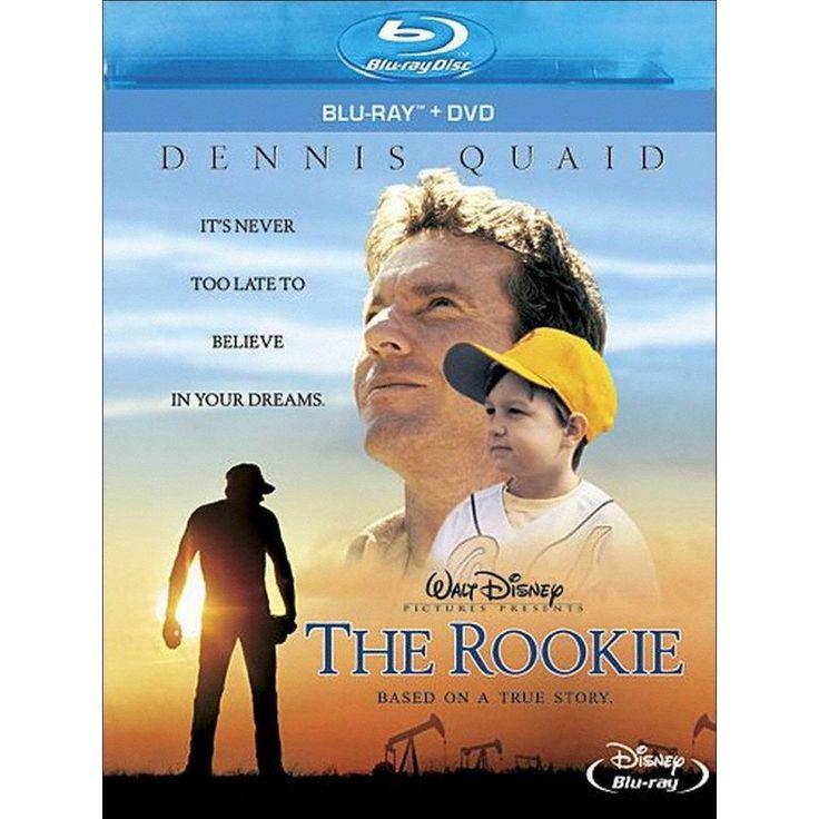 The Rookie (Bluray) Baseball movies, Disney movies