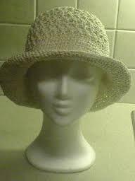 Bilderesultat for heklet hatt oppskrift