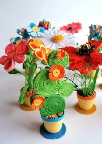Flores de papel gifts for mom from daughter | Handmade website